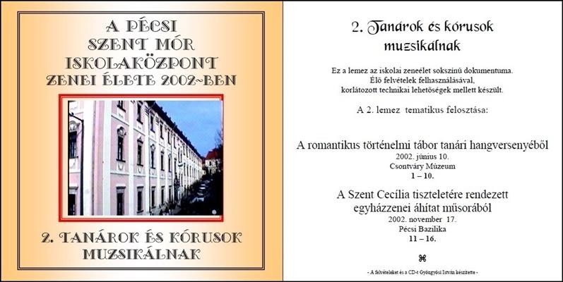 2002. CD-SzentMór2