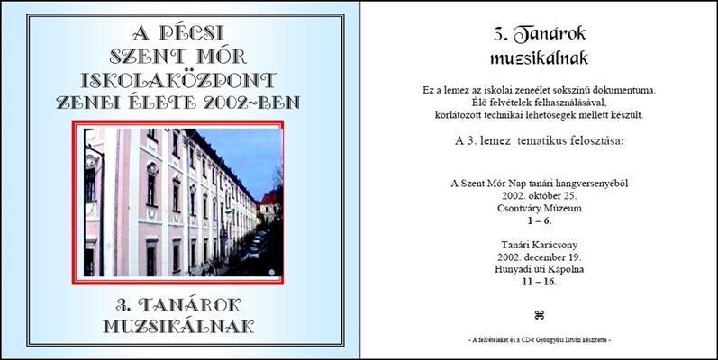 2002. CD-SzentMór3