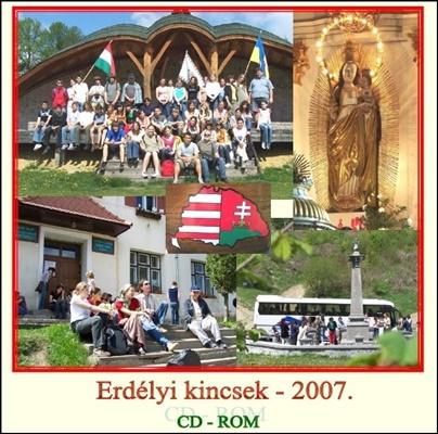 2007. CD-ROM-Erdélyi kincsek-2007.
