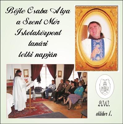 2010. CD-BöjteCD-előlap