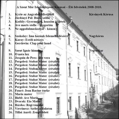 2010. Kórus-CD