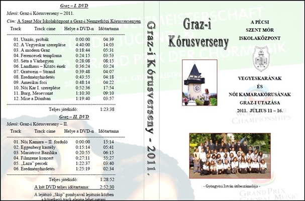 2011-DVD-Grazi kórusvers