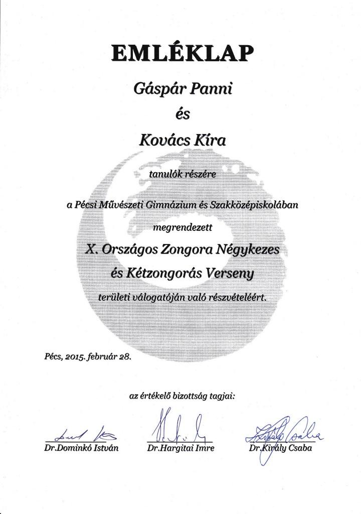 Gáspár P-Kovács K - 2015.febr.28.