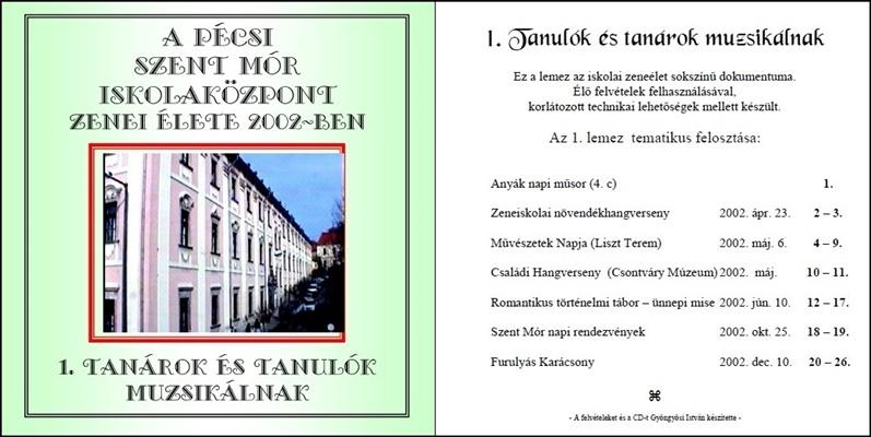 2002. CD-SzentMór1