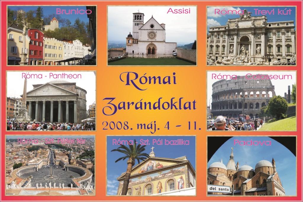 2008_Római zarándoklat-Képeslap