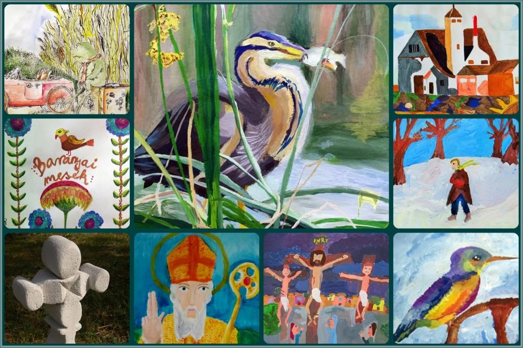 2015. Művészetek Napja -képzőművészet montázs