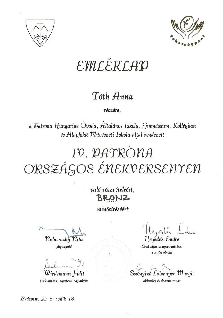 PATRÓNA_IV.Tóth Anna