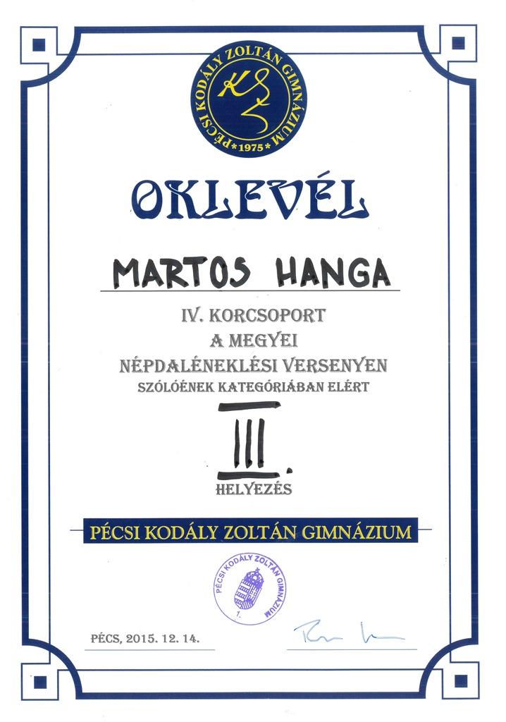 Martos Hanga-