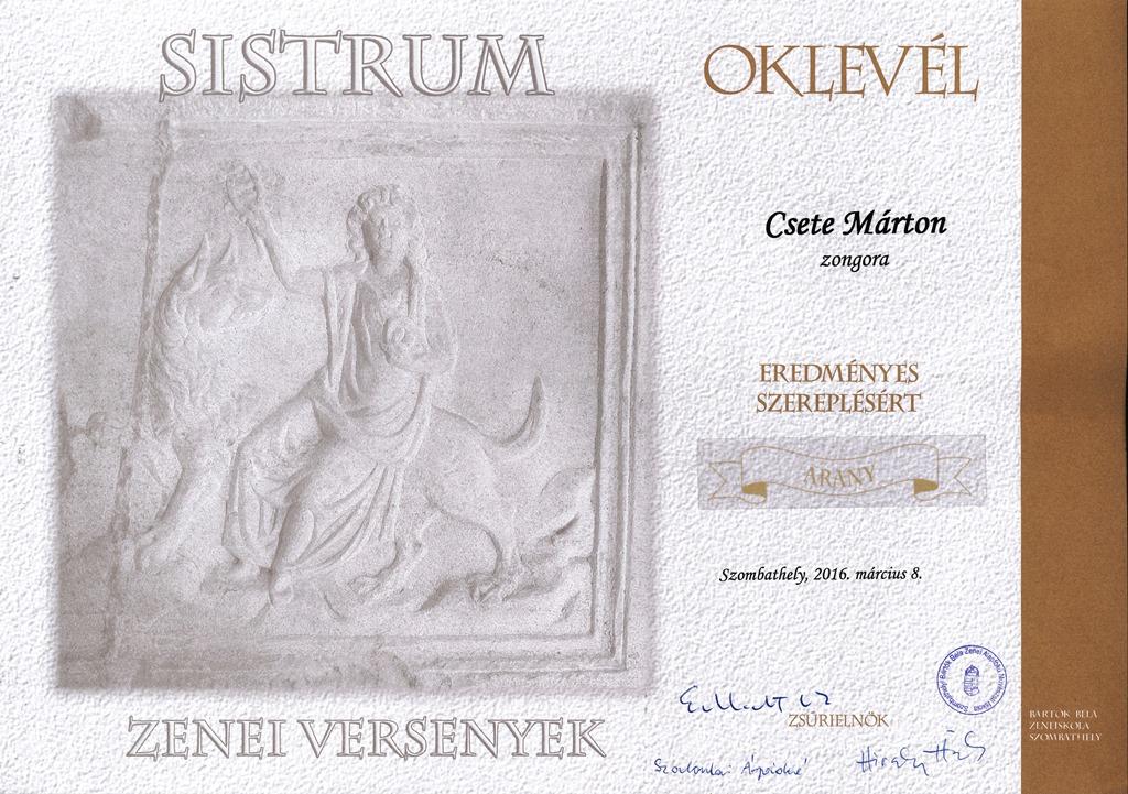 Zongora-arany-Csete Márton-k